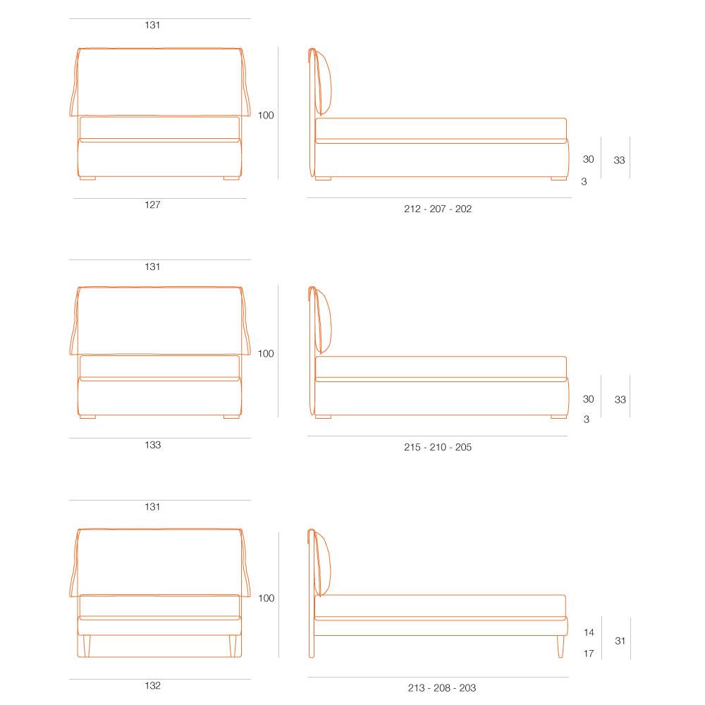 Misure materasso piazza e mezza 28 images materasso misure standard di un letto matrimoniale - Letto una piazza e mezza misure standard ...